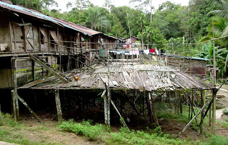 Iban Longhouse Sarawak